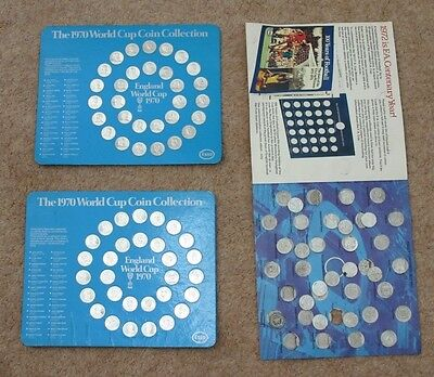 ESSO 1970 World Cup Coin Collection, ESSO FA Cup 1972 Coin Collection