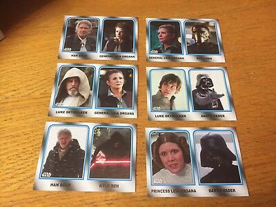 Topps Journey To Star Wars The Last Jedi Walmart Exclusive Family Legacy Set