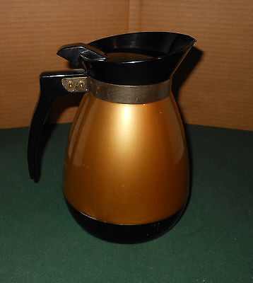 VINTAGE Retro West Bend THERMO SERV Carafe PITCHER, HOT/COLD