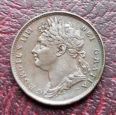 (E34) Uk British 1821. George Iv One Farthing Coin Good Grade
