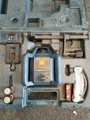 Bosch GRL 240 HV Self-Leveling Rotary Laser Level Kit With Case USED PRE-OWNED