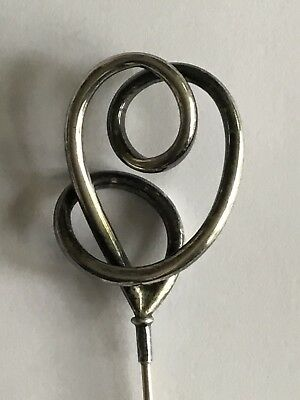 Antique Silver Hat Pin