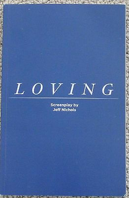 Loving Fyc For You Consideration 2016 Screenplay Script Hand Signed Jeff Nichols