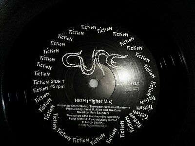 """THE CURE - High (Higher Mix) - Rare  12"""" SINGLE,  Record, GOTH,PUNK ,NEW WAVE."""