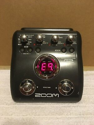 ZOOOM G2 Guitar Multi Effects Pedal Processor and Power Supply
