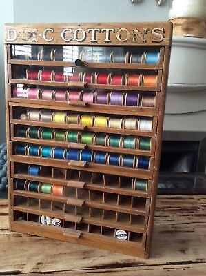 Rare shop haberdashery display for cotton reels -DMC Cottons