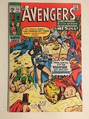 Avengers #83 1st Appearance Of Valkyrie (Thor Movie)