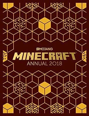 The Official Minecraft Annual 2018 from Mojang Hardback Book NEW