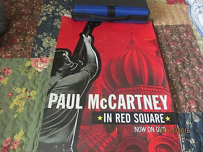 Paul McCartney, Live In Red Square, Promo Poster