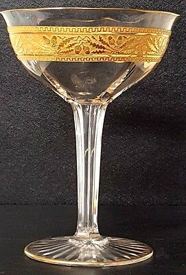 Baccarat Crystal Hollow Stem Champagne Glass