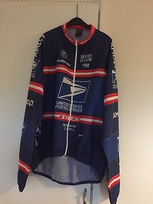 Nike USPS Water Resistant Cycling Jacket