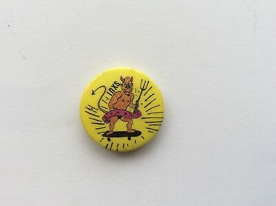 Button Pop Badge from the 80s INXS  by Banbury badges UK