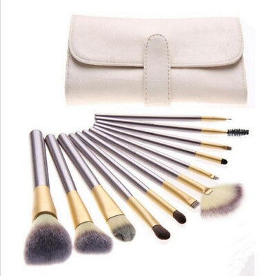 Professional 24PCs Makeup Brush Set Powder Cosmetic Tool Kit with Synthetic Bag