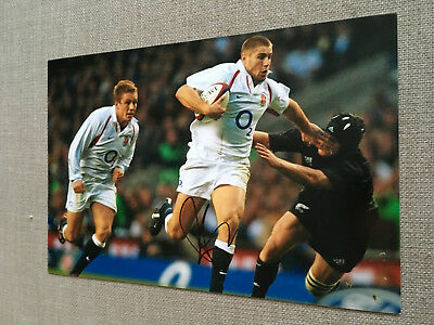 BEN COHEN RUGBY UNION LEGEND ENGLAND WORLD CUP 12x8 AUTHENTIC HAND SIGNED PHOTO