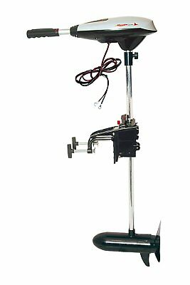 Manta MX44 Electric Trolling Outboard  65lbs Thrust 12V suit dingy upto 350Kgs