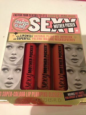 Soap And Glory Sexy Mother Pucker X3 Pack Bargain !!!