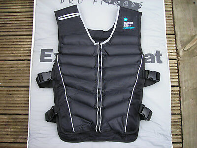 Mens Health Elite Active weighted vest - 10kg (Collection Only)