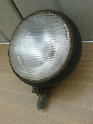 Vintage Tractor Plough Light /  Lamp Made In Czechoslovakia, For Old Tractor,