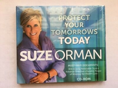 Suze Orman - Protect Your Tomorrows Today, CD-ROM / BRAND NEW FACTORY  SEALED