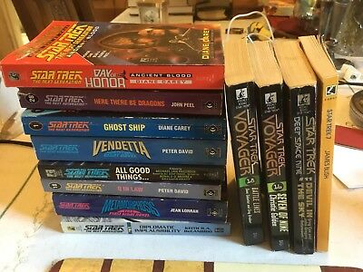 Star Trek Bundle Of Paperback Books - 12