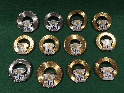 Lot of 12 1970's Vintage US Navy Pins, USS Sacramento AOE 1
