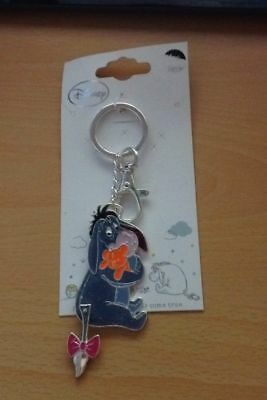 eeyore KEYRING DISNEY WINNIE THE POOH GLITTER STOCKING FILLER SECRET SANTA GIFT