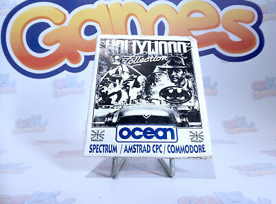 Notice Hollywood Collection / Pour console Spectrum_Amstard CPC_Commodor