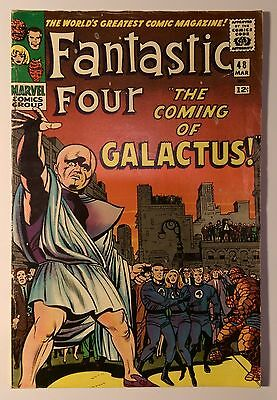 Fantastic Four #48 1966 Marvel 1st appearance Silver Surfer Galactus KEY COMIC