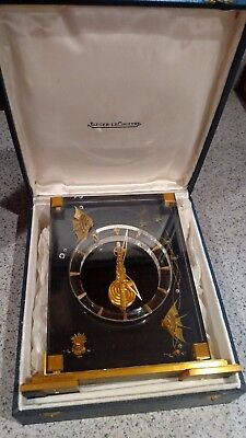 Jaeger-LeCoultre clock Marina Angel Fish - rare black color