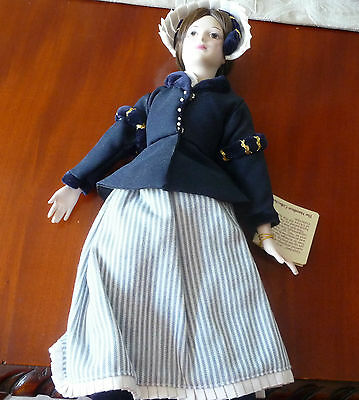 Grenchen  Vintage Collectible Porcelain Doll From Germantown Collection