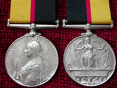 Replica Copy Queens Sudan Medal 1899 Full Size Aged moulded from original