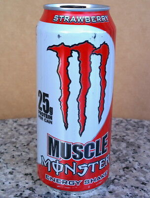MONSTER ENERGY – MUSCLE STRAWBERRY - RAR und VOLL!