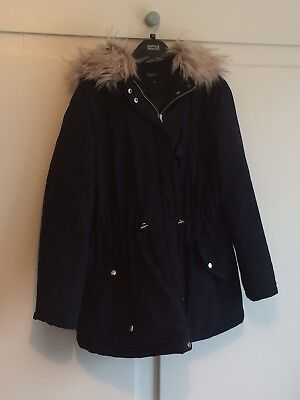 Maternity Coat Size 16 New Look