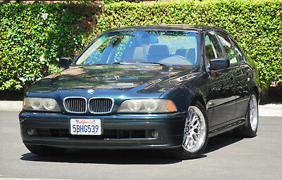 2003 BMW 5-Series  2003 BMW 530i, green/tan, relaible, runs great, 150,000 miles