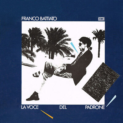FRANCO BATTIATO- LA VOCE DEL PADRONE- LP  great copy!!