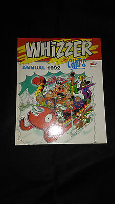 Whizzer And Chips Vintage Comic Book Annual 1992