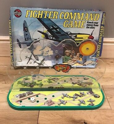 Rare Vintage Airfix Fighter Command Game 1976