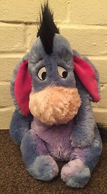 Authentic Disney Store Exclusive Original Eeyore Plush 12""