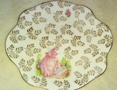 Laurie and Co genuine bone china cake/sandwich plate