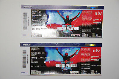 2 tickets roger waters berlin mercedes benz for Mercedes benz tickets