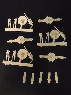 Epic 40k Forge World Imperial Hydra Platforms AA Guns (1 incomplete)