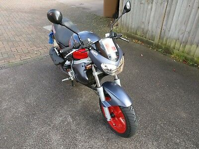 Gilera DNA 125cc 4 stroke motorcycle