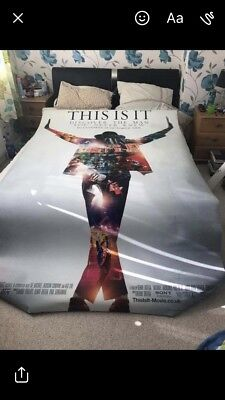Michael Jackson This Is It Promo Banner cinema
