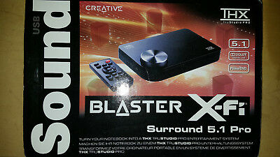 USB Soundkarte - Creative SoundBlaster X-Fi Surround 5.1 Pro extern