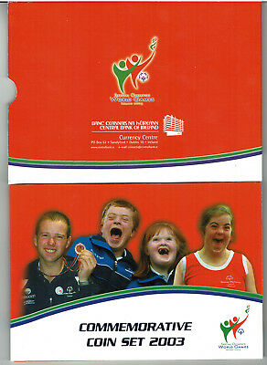 Eire-Ireland-Irland - Euro  2003 Special Olympics World Game, off. set from CBoI
