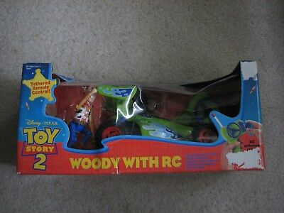 Toy Story 2 Woody With RC Tethered Remote Control Brand New Mattel 2000