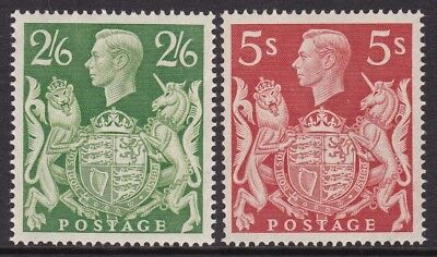 Gb 1939-48 2S 6D Green & 5S Red Unmounted Mint