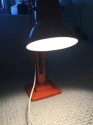 Vintage Herbert Terry Anglepoise Lamp - Orange