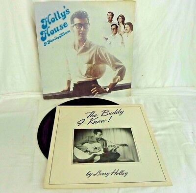 Holly's House ---- A Family Album (Buddy Holly) Vinyl Lp And A Booklet  #cr#