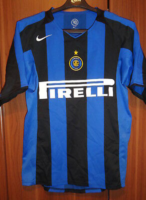 Genuine  Nike Inter Milan Home Football Shirt-Excellent